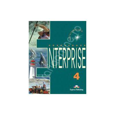 Curs de limba engleza. Enterprise 4 (SB) Intermediate. Manualul elevului clasa a VIII-a