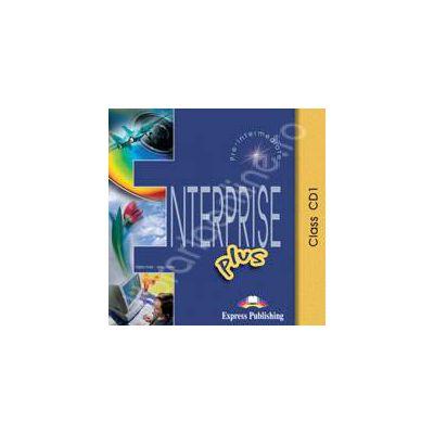 Curs de limba engleza. Enterprise Plus Pre-Intermediate. Class audio CDs (Set 5 CD)
