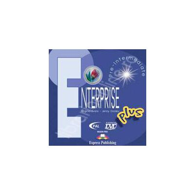 Curs de limba engleza. Enterprise Plus Pre-Intermediate. DVD