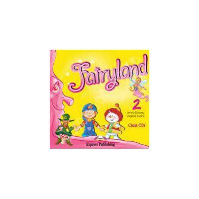 Curs pentru limba engleza. Fairyland 2 Audio CD