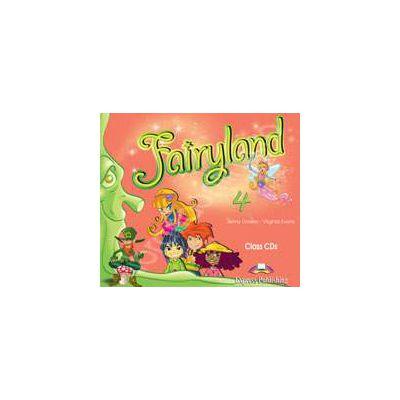 Curs pentru limba engleza. Fairyland 4. Class audio CDs (Set 4 CD)