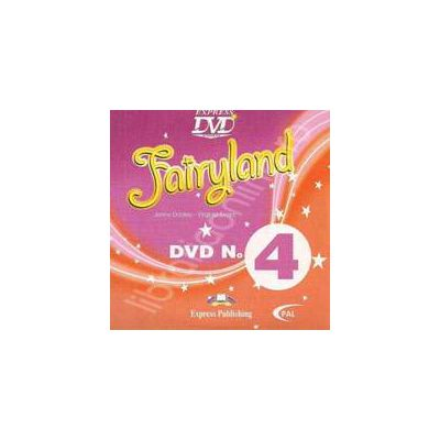 Curs pentru limba engleza. Fairyland 4. DVD