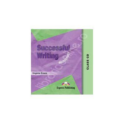 Curs pentru limba engleza. Successful Writing Proficiency. Class audio CD