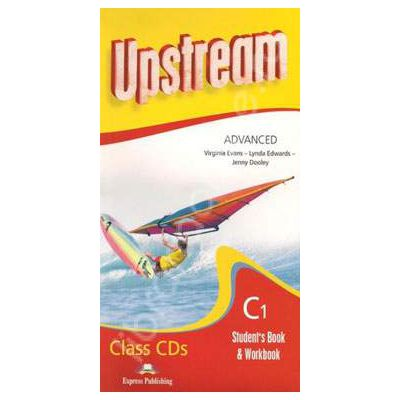 Curs pentru limba engleza. Upstream Advanced C1. Class audio CDs (Set 8 CD)