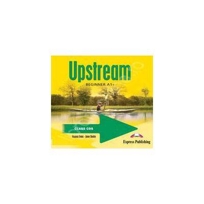 Curs pentru limba engleza. Upstream Beginner A1+. Class audio CDs (Set 3 CD)