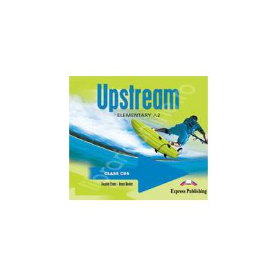 Curs pentru limba engleza. Upstream Elementary A2. Class audio CDs (Set 3 CD)