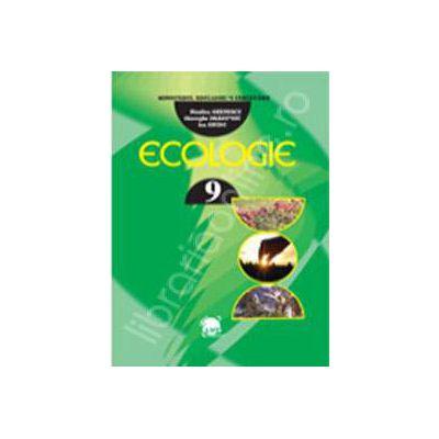 Ecologie generala, manual pentru clasa a IX-a