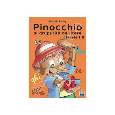 Pinocchio si grupurile de litere. Clasele I-II