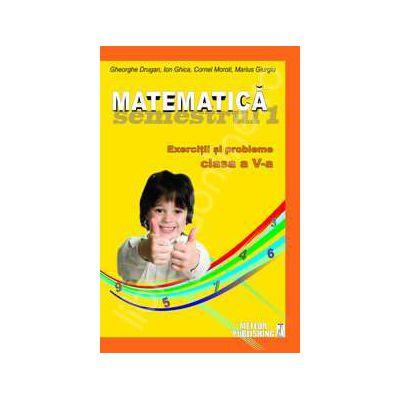 Matematica. Exercitii si probleme. Clasa a V-a (semestrul I 2012-2013)