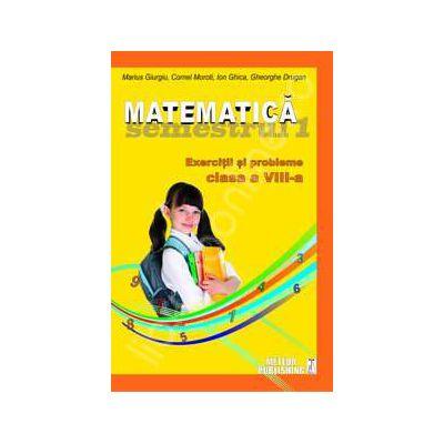 Matematica. Exercitii si probleme. Clasa a VIII-a, semestrul I 2012-2013