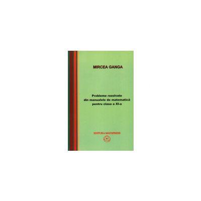 Mircea Ganga, Probleme rezolvate din manualele de matematica pentru clasa a XI-a