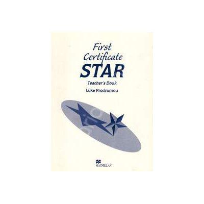 First Certificate Star Teacher's Book (Luke Prodromou)