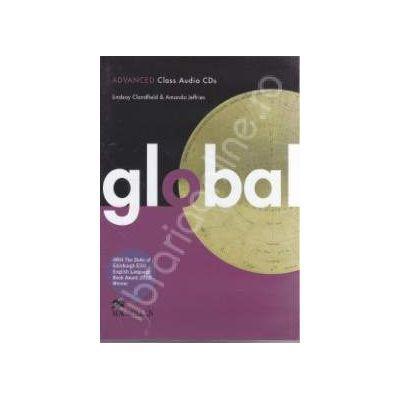 Global Advanced. Class Audio CDs (3 cd-uri)