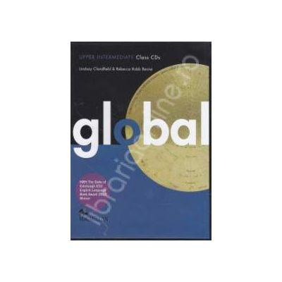 Global Upper Intermediate. Class Audio CDs (2 cd-uri)