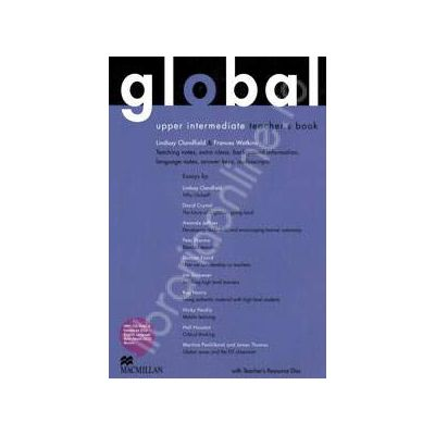 Global Upper Intermediate Teacher's Book with Resource CD