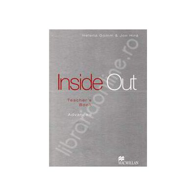 Inside Out Upper Advanced. Teacher's Book