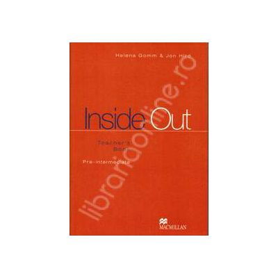 Inside Out Upper Pre-Intermediate. Teacher's Book