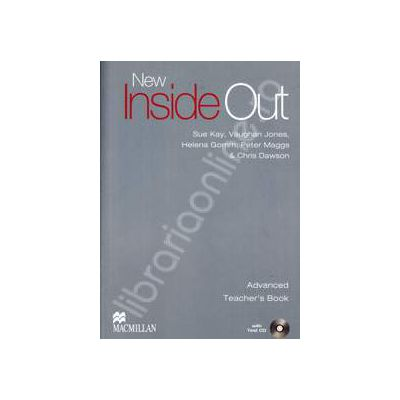 New Inside Out Advanced Teacher's Book with Test CD-ROM