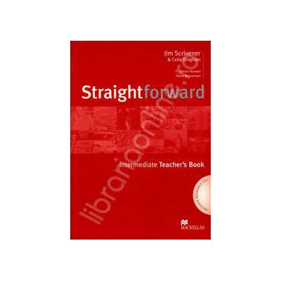 StraightForward Intermediate. Teacher's Book (Includes Resource CDs)