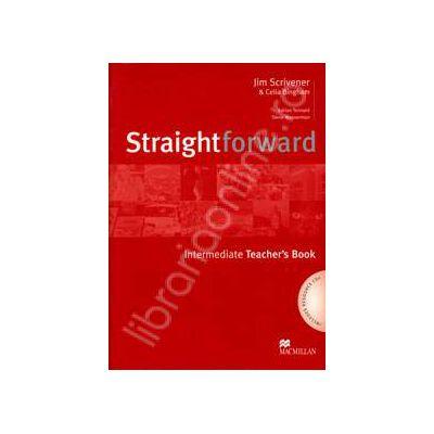 StraightForward Intermediate. Teacher's Book (Includes Resource CDs)