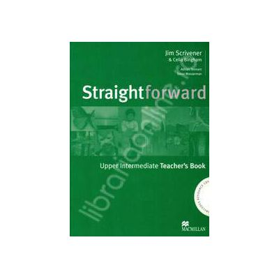 StraightForward Upper-Intermediate. Teacher's Book (Includes Resource CDs)