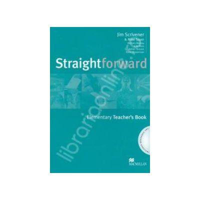 Straightforward Elementary Teachers Book + CD