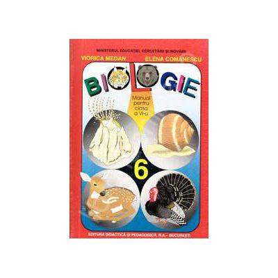 Biologie manual pentru clasa a VI-a (Viorica Medan, Comanescu Elena)