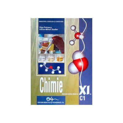 Chimie (C1) manual pentru clasa a XI-a (Olga Petrescu)