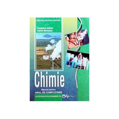 Chimie manual pentru clasa a XI-a. Anul de completare