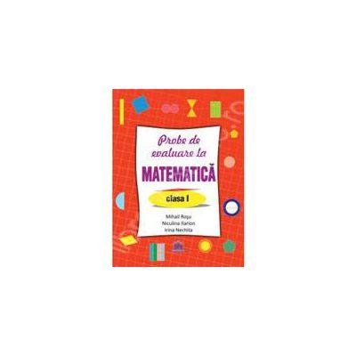 Probe de evaluare la matematica -clasa I
