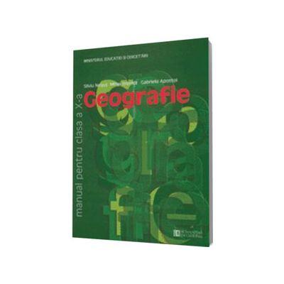 Geografie manual pentru clasa a X-a (Silviu Negut)