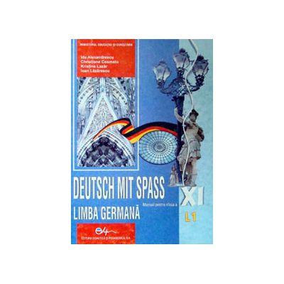 Limba Germana (L1), manual pentru clasa a XI-a (Deutsch Mit Spass)