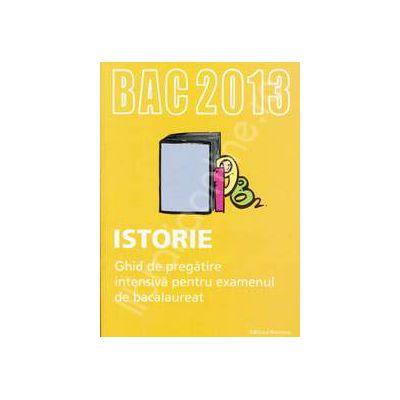 Bacalaureat Istorie 2013 (Sinteze si teste). Ghid de pregatire intensiva pentru examenul de bacalaureat