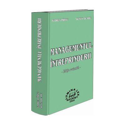 Managementul intreprinderii. Editie revizuita