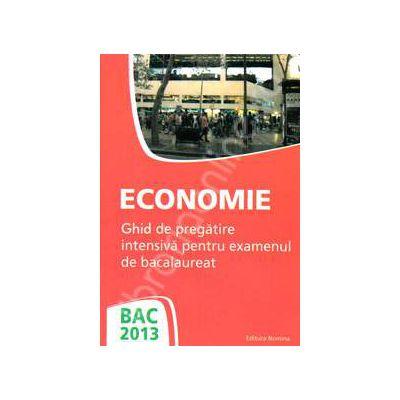 Bacalaureat 2013 Economie. Ghid de pregatire intensiva