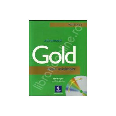 Advanced Gold Exam Maximiser with key&CD pack