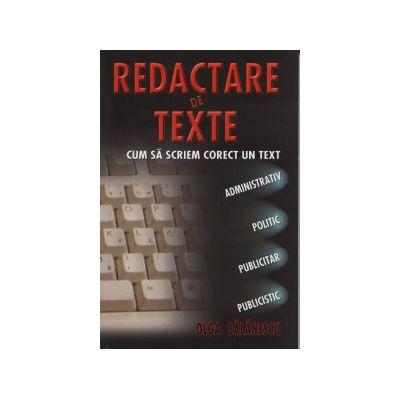Redactare de texte