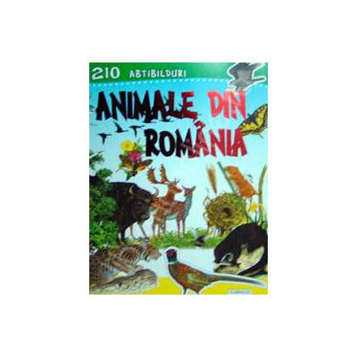 210 abtibilduri. Animale din Romania