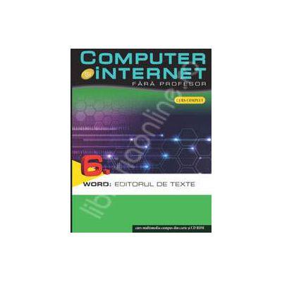 Computer si internet fara profesor  volumul 6