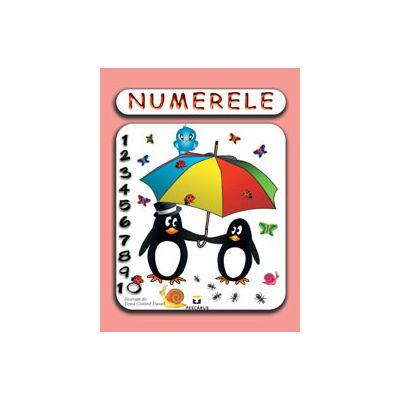 Numerele (Carte ilustrata color, 4-7 ani)