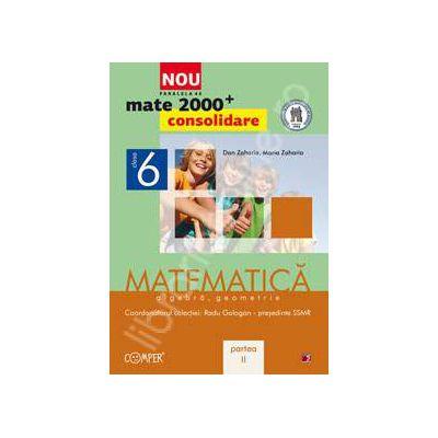 Mate 2000 pentru clasa a VI-a. Partea a II-a, CONSOLIDARE. Matematica, algebra, geometrie