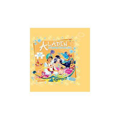 Aladin si lampa fermecata - poveste puzzle