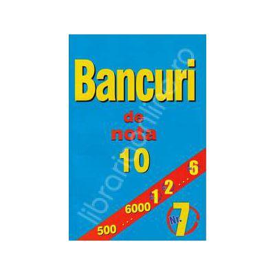 Bancuri de nota zece. Numarul 7