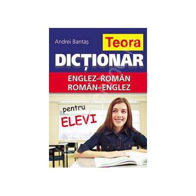 Dictionar dublu Englez-Roman, Roman-Englez (Pentru elevi)