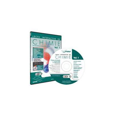 CD, interactiv. Lectii interactive de chimie pentru liceu, Volumul I