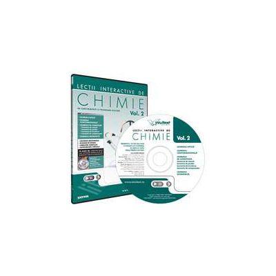 CD, interactiv. Lectii interactive de chimie pentru liceu, Volumul II