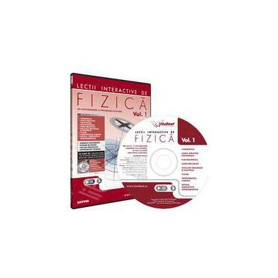 CD, interactiv. Lectii interactive de fizica pentru liceu, Volumul I
