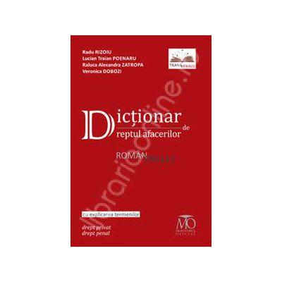 Dictionar de dreptul afacerilor roman-englez. Cu explicarea termenilor