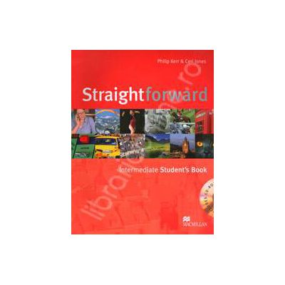 Straightforward (BI) Intermediate Student's Book. Includes Cd-rom