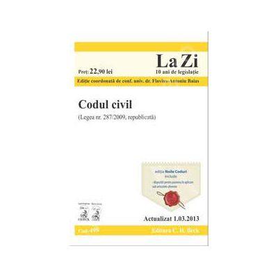 Codul civil (actualizat la data de 1.03.2013)